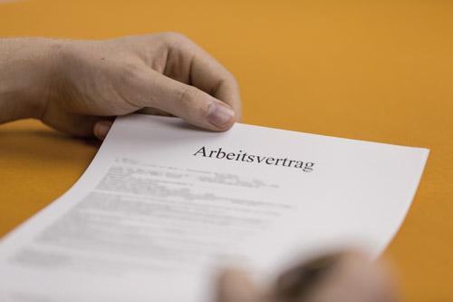 Vertragsrecht Das Gehört In Einen Arbeitsvertrag Für