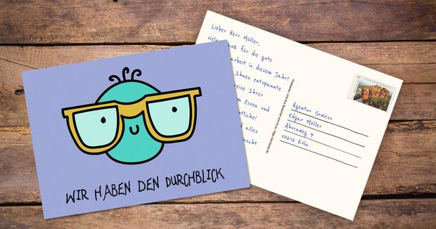 Digitale Postkarte