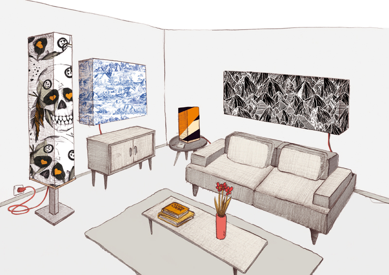 gesch ftsideen beleuchtung individuell gestaltbare lampen. Black Bedroom Furniture Sets. Home Design Ideas
